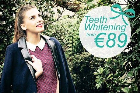 Teeth Whitening Offer Dublin - smiling model