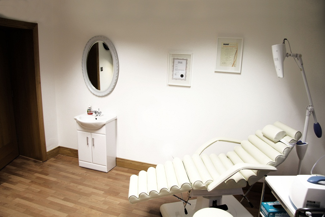 Teeth Whitening - treatment room - chair