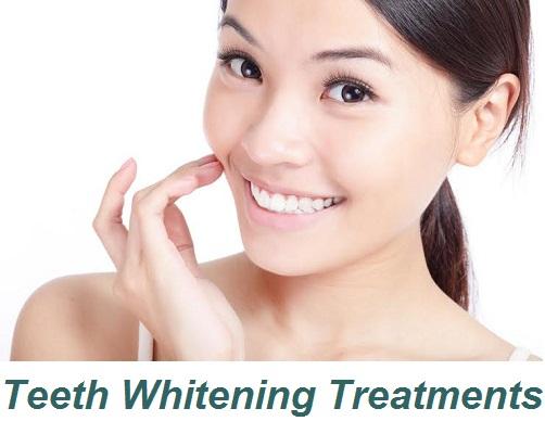 TREATMENTS - TEETH WHITENING